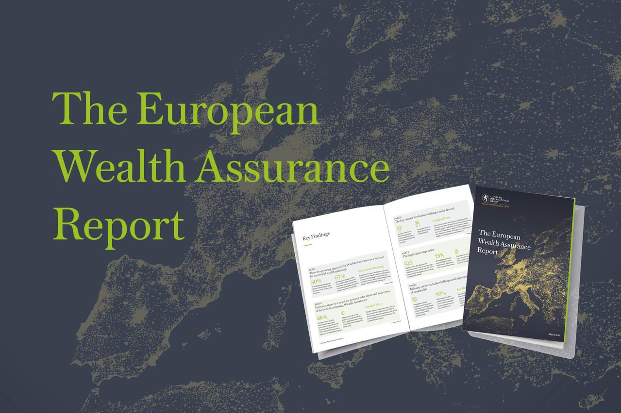 Une étude européenne inédite sur l'assurance-vie. (Photo: Lombard International Assurance)