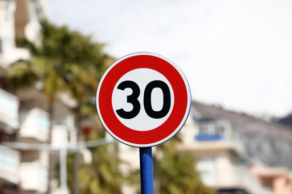 The European parliament wants to bring the number of road-related deaths to zero by 2050. Copyright (c) 2018 Sibuet Benjamin/Shutterstock.  No use without permission.