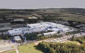 Le site d'Echternach d'Euro-Composites représente une surface totale de 76.000m 2 . ((Photo: Euro-Composites))