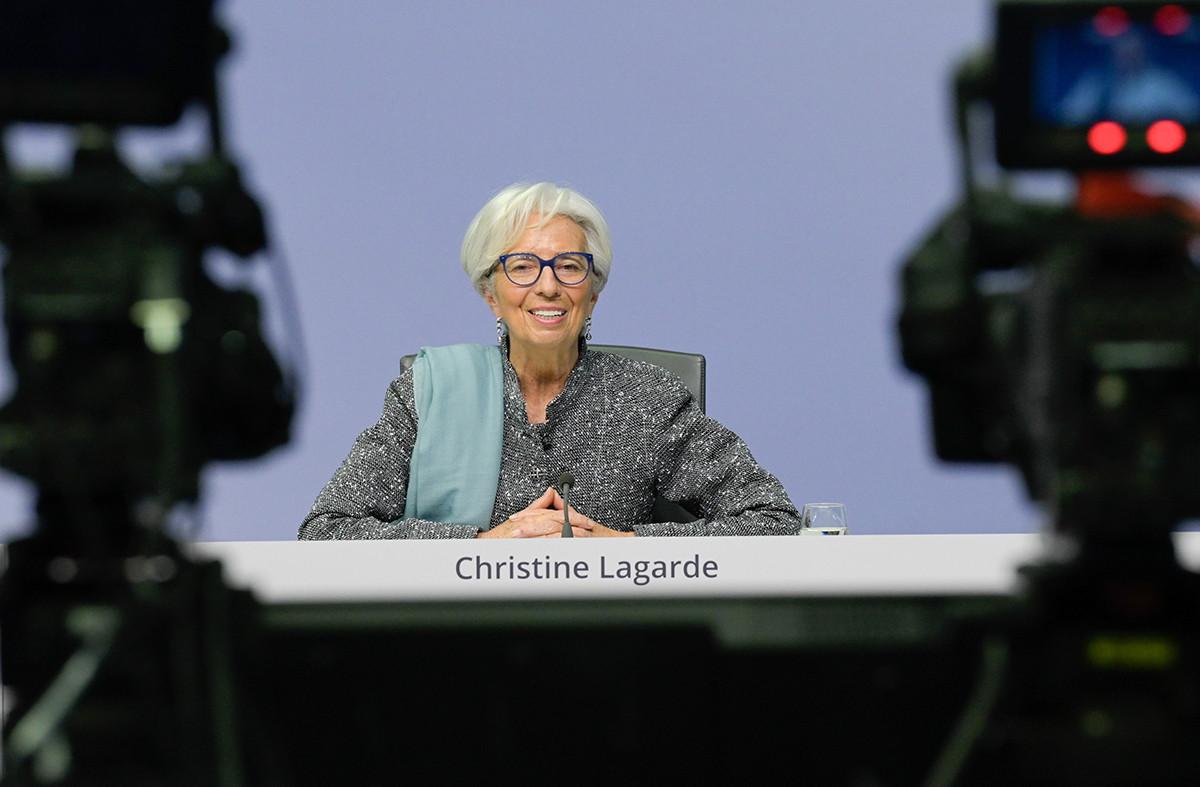 Selon ChristineLagarde, l'euro numérique, complément aux billets et pièces, pourrait voir le jour en 2025. (Photo:Nils Thies/European Central Bank)