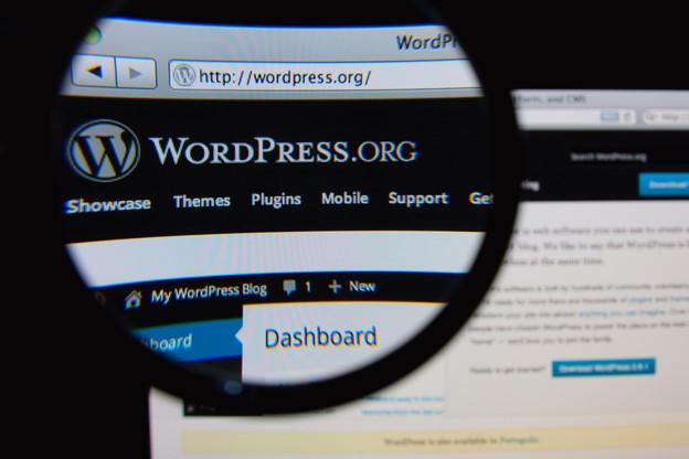 Wordpress est un moyen simple de créer son site et sa présence en ligne pour les petites PME ou les indépendants. (Photo: Shutterstock)