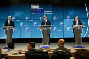 MárioCenteno (au centre) a renoncé à son poste de ministre des Finances du Portugal et doit donc être remplacé à la présidence de l'Eurogroupe. (Photo: Shutterstock)