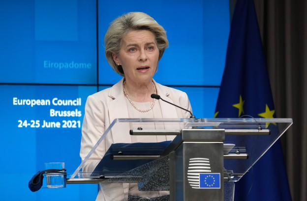 La présidente de la Commission européenne, Ursula von der Leyen, va devoir se montrer convaincante pour faire admettre ses mesures pour décrocher des ressources propres. (Photo: EU/Alexandros Michailidis)