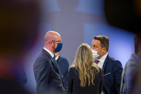 Le Premier ministre XavierBettel (DP) se trouvait à Porto le week-end dernier pour cet important sommet sur l'Europe sociale. (Photo: SIP/Jean-ChristopheVerhaegen)