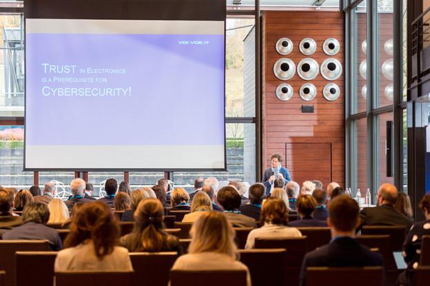 La conférence de clôture Taftie s'est penchée sur le programme de financement Digital Europe et sur le futur numérique du Vieux Continent. (Photo: Marie De Decker)