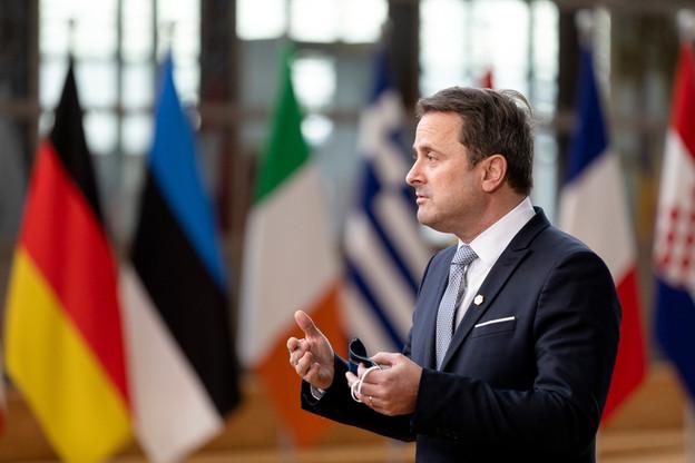 Xavier Bettel s'est toujours montré très ferme à l'égard de la Hongrie et de la Pologne, estimant les valeurs européennes non négociables. (Photo: SIP/Thierry Monasse)