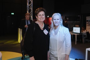 Diane Hosie (Morgan Stanley) et Martine Kerschenmeyer (Korn Ferry) ((Photo: Marion Dessard))