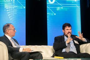 Jervis Smith (Citibank Europe) et Serge Weyland (Alfi) ((Photo: Matic Zorman))
