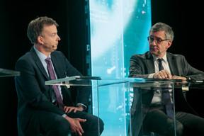 Julian Webb (Fidelity) et Christian Lemaire (Amundi Asset Management) ((Photo: Matic Zorman))