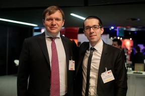 Dmitry Petrovb (Gardeval) et Daniel Bader (Raiffeisen) ((Photo: Matic Zorman))