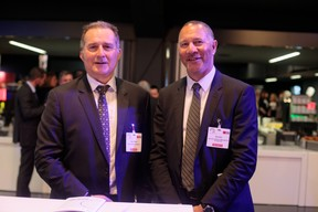 Mark Phillips (Aviva Investors Luxembourg) et  Nick Alter (Schroder Investment Management Europe) ((Photo: Matic Zorman))