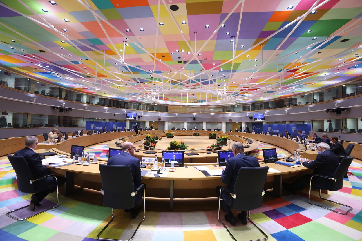 The recent spike in energy prices and its impact on citizens and businesses were the focus of the Council's discussions. Photo: Council of the European Union