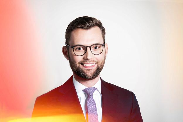 Jasper Ronda, Manager at  Arendt Regulatory & Consulting . (Crédit: Patricia Pitsch / Maison Moderne)
