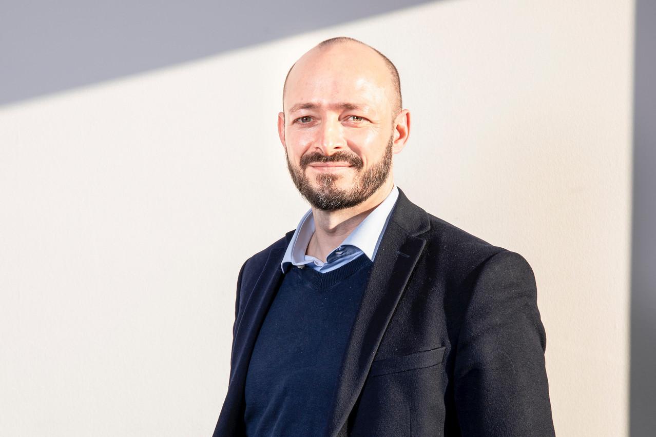JérômeDhamelincourt:«Je lis Paperjam depuis mon arrivée à Luxembourg et j'ai récemment découvert les événements organisés par le Club, que j'ai trouvé de grande qualité.» (Photo: Marc Blasius / Maison Moderne)