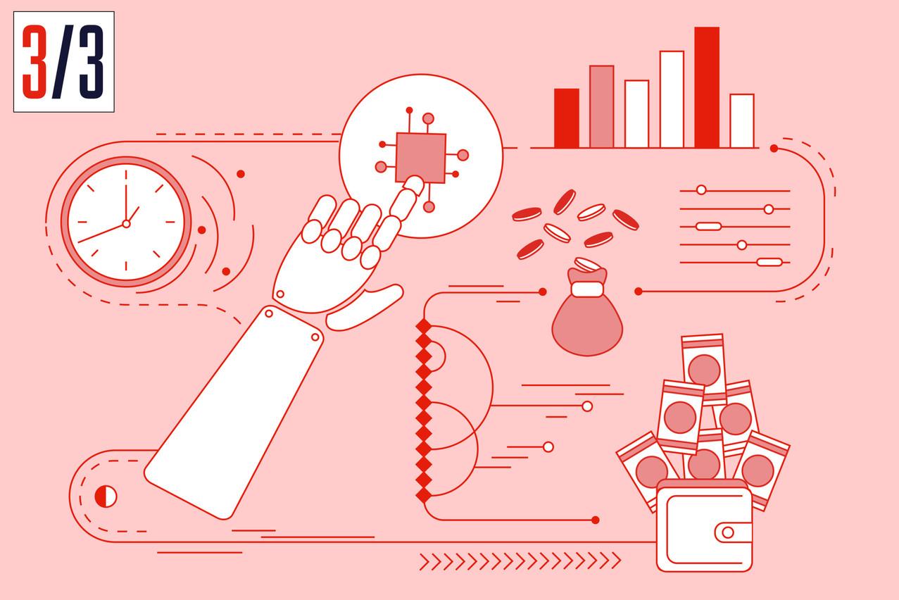 Explainable AI brings a new impulse to financial services. (Illustration : Maison Moderne)