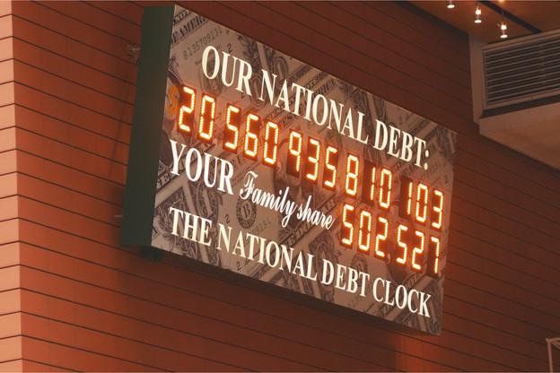 En moyenne, entre1995 et2020, la dette par habitant est passée de 4.371 à 11.187dollars dans les 35pays considérés par Janus Henderson. (Photo: Shutterstock)