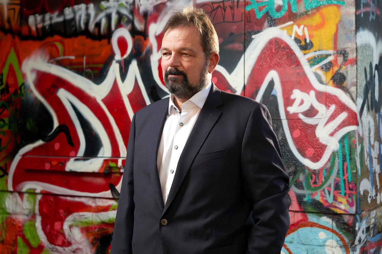 Charles Müller, président de Finance and Human rights asbl. (Photo: Andrès Lejona/Maison Moderne)