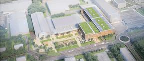 Le projet de Decker Lammar & Associés pour le concours du COHS à Esch-sur-Alzette. ((Illustration: Decker Lammar))