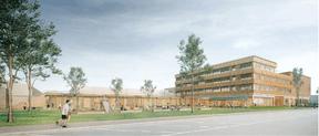 Le projet de Decker Lammar & Associés pour le concours du COHS à Esch-sur-Alzette ((Illustration: Decker Lammar))