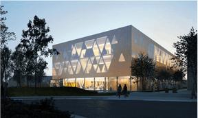 Le projet de Holweck Bingen pour le concours du COHS à Esch-sur-Alzette ((Illustration: Holweck Bingen))