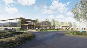Le projet de Steinmetzdemeyer pour le concours du COHS à Esch-sur-Alzette. ((Illustration: Steinmetzdemeyer))
