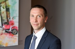 Stéphane Cousin, associate partner. ((Photo: EY Luxembourg))
