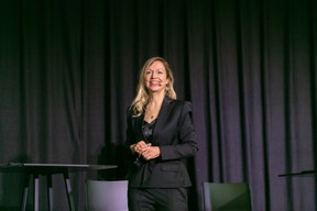 EY HR director Annette Boehm and her team led the event.  Romain Gamba / Maison Moderne
