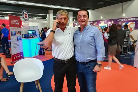 Avec cette première grosse levée de fonds, André Martinie et Ugo Loustalet vont pouvoir se préparer à attaquer d'autres marchés que la France. (Photo: Ezbeez)