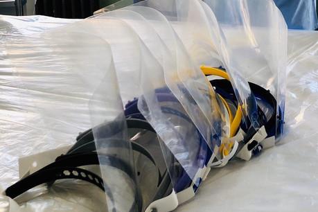 Près de 6.000masques ont été fabriqués par des centaines d'anonymes au Luxembourg à partir d'imprimantes 3D. (Photo: CHL)