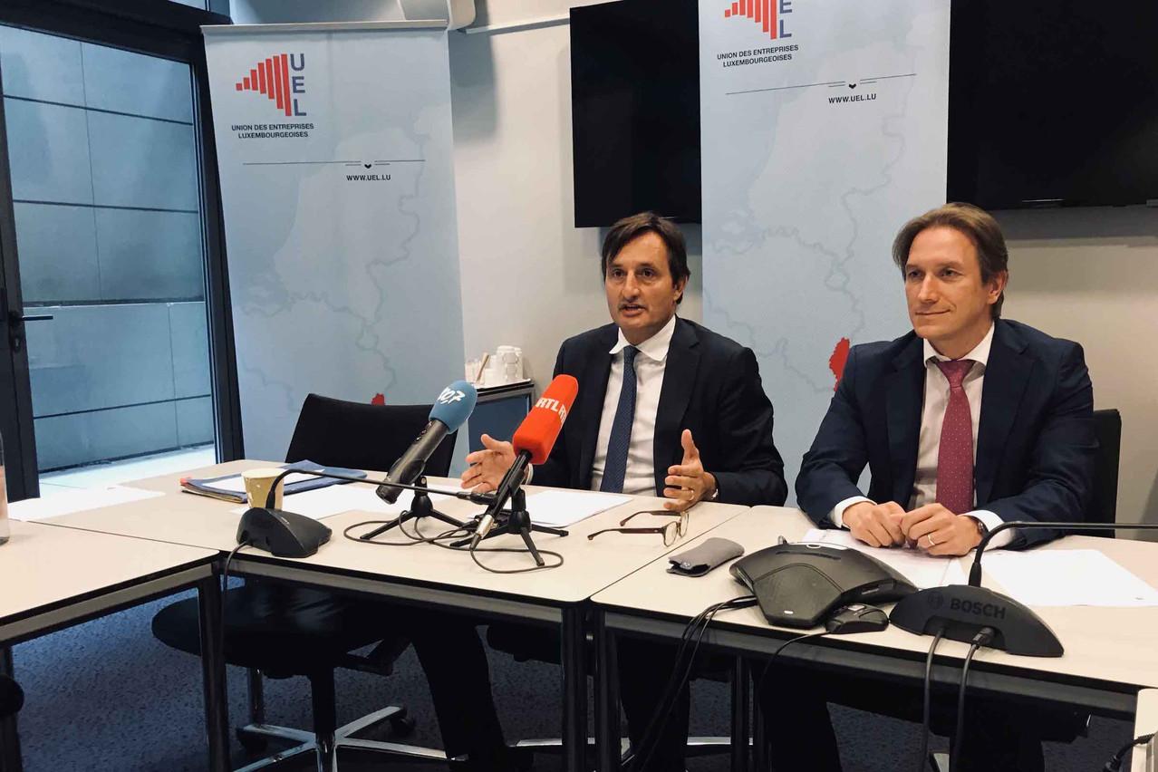 NicolasBuck explique pour l'UEL depuis deux mois la volonté du patronat de changer de méthode de travail en laissant au gouvernement le soin de décider en matière de droit du travail, sans passer par des négociations jugées inutiles. (Photo: Paperjam/archives)