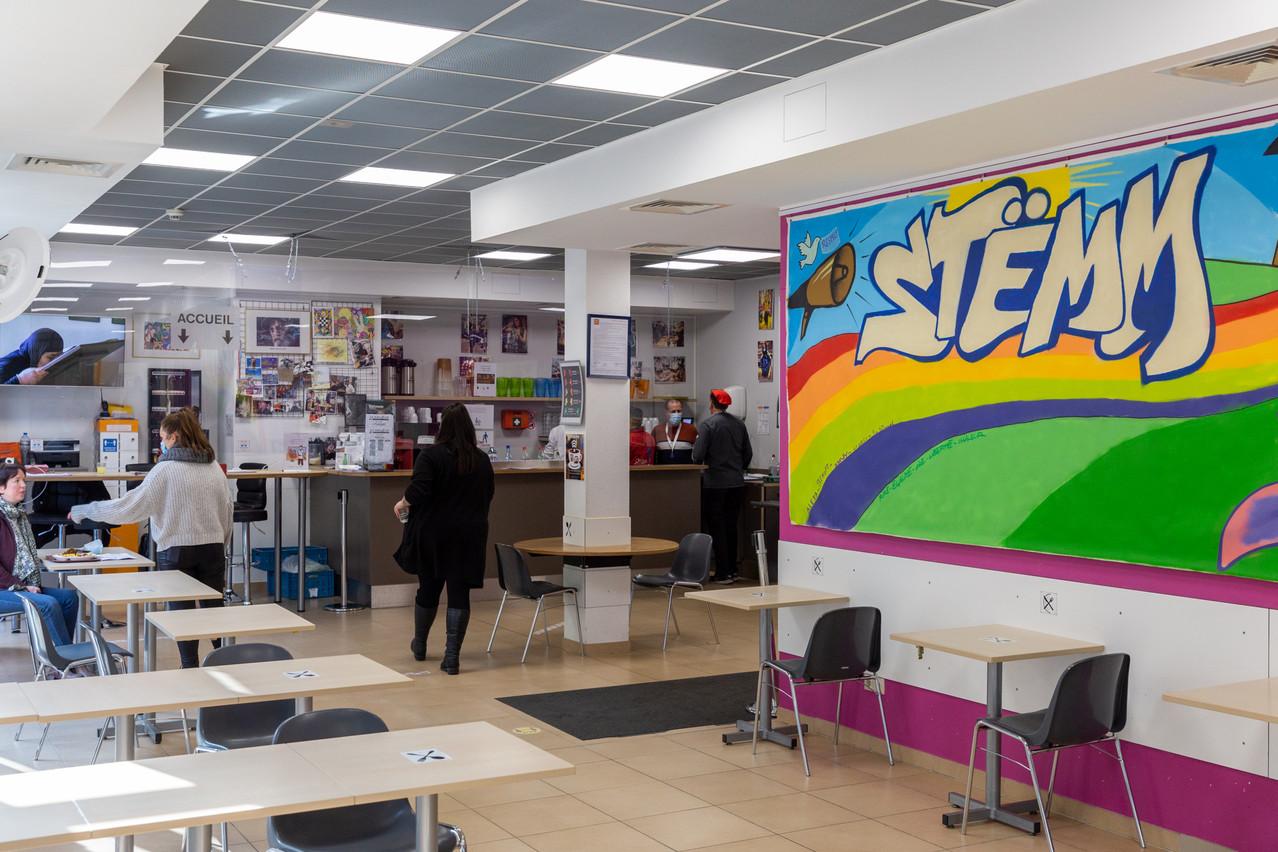 Avant la crise, le restaurant de Luxembourg servait environ 300repas. Il ne peut plus en proposer que 140 par jour. (Photo: Romain Gamba/Maison Moderne)