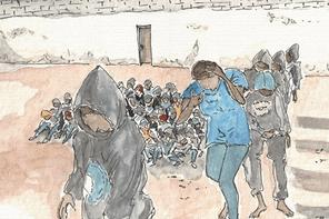 Depuis sa création fin 2016, l'association a reçu 711 demandeurs d'asile ou réfugiés à sa permanence. Ici, une des illustrations de son ouvrage«Réhumanisez-moi». (Illustration: Mauro Doro)
