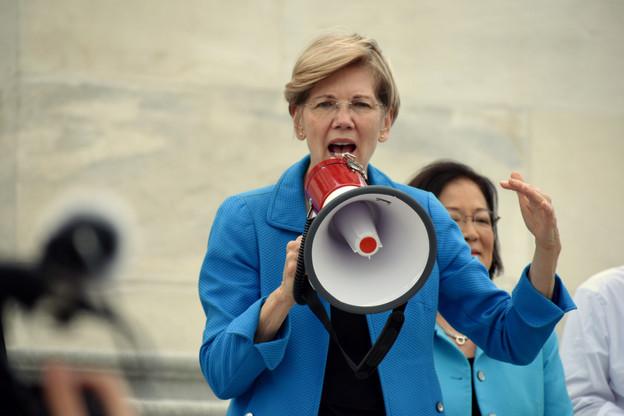 Porte-voix de ceux qui pensent que les Gafa devraient être démantelés, la sénatrice Elizabeth Warren trouvera un Mark Zuckerberg déterminé à ne pas se laisser faire. (Photo: Shutterstock)