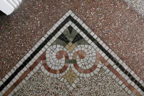 Detail of mosaic floors Matic Zorman / Maison Moderne
