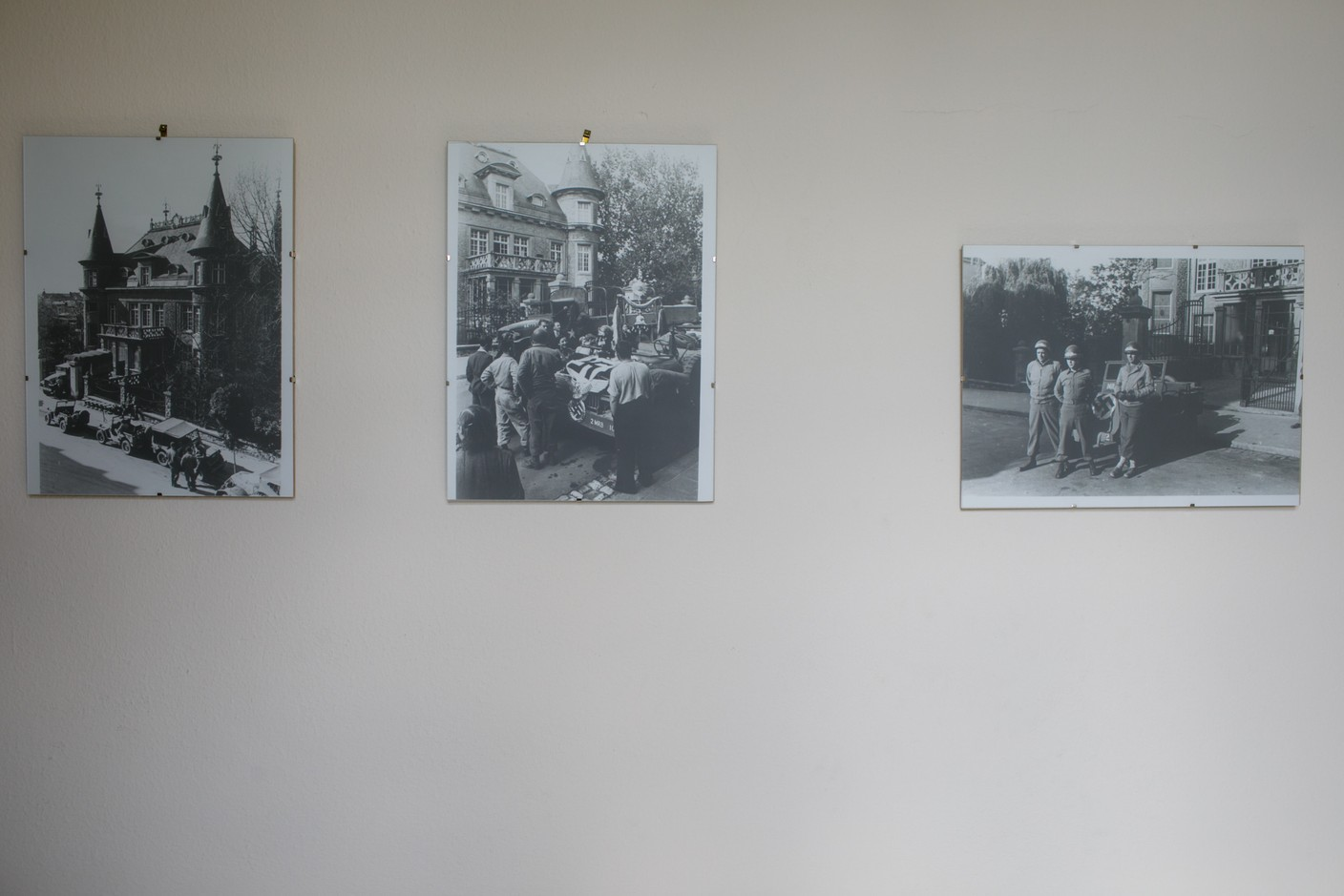 Photos show the villa following the liberation of Luxembourg by Allied troops Matic Zorman / Maison Moderne