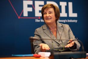 Michèle Detaille annonce que la Fedil travaille à une proposition pour réduire les délais administratifs dans des dossiers comme celui de Fage. (Photo: Matic Zorman/archives)