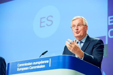 Michel Barnier s'est une nouvelle fois montré très ferme envers les Britanniques. (Photo: Claudio Centonze/Union européenne)
