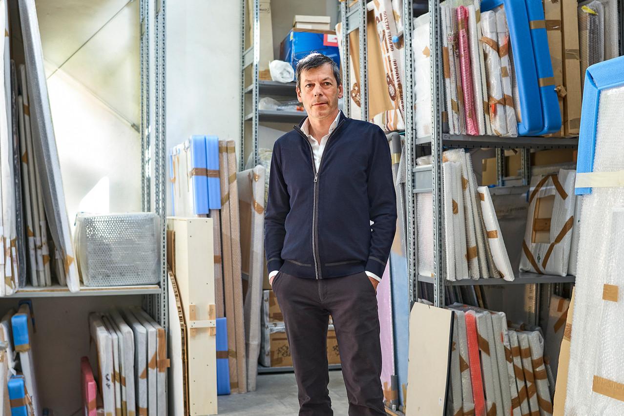 Alex Reding assure la promotion, depuis deux décennies, des artistes contemporains luxembourgeois à travers la galerie Nosbaum Reding. (Photo: Andrés Lejona/Maison Moderne)