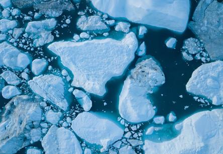 Melting ice caps (Photo: Lyxor ETF)