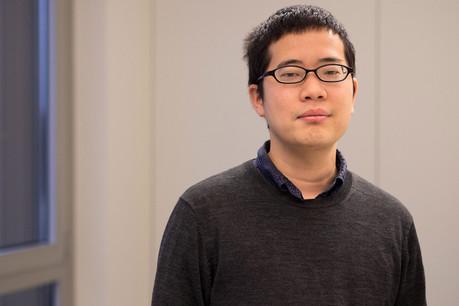 Shunichi Hashikawa recherche un poste dans le secteur de la communication et du marketing. (Photo: Thierry Frisch)