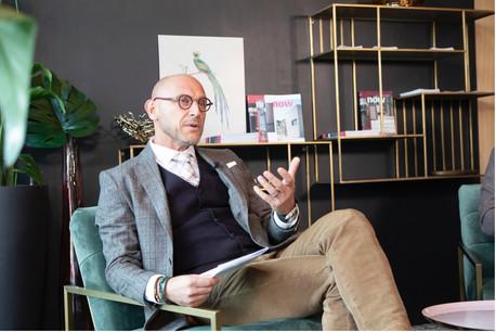Vincent Bechet, Partner & Managing Director d'INOWAI (Photo: Julian Pierrot / Maison Moderne)