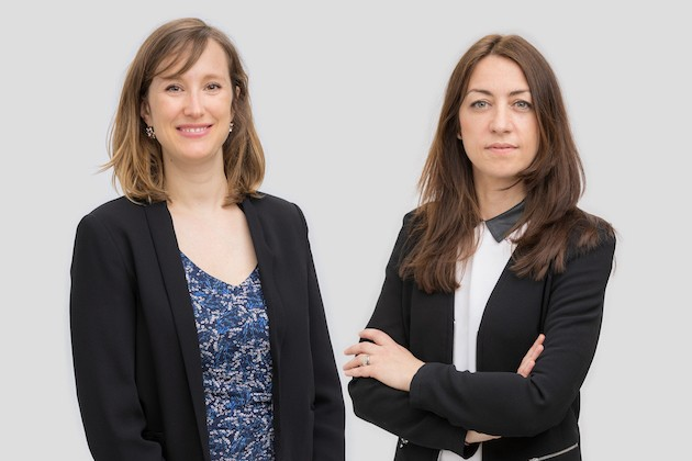 Claire Leonelli et Claire Denoual (Photo: /c law)