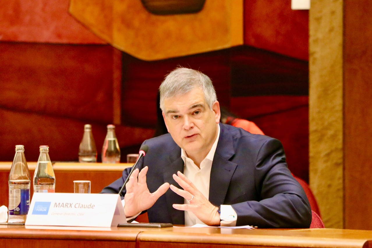 Claude Marx, Directeur Général de la Commission de Surveillance du Secteur Financier. (Photo: FARAD I.M.)