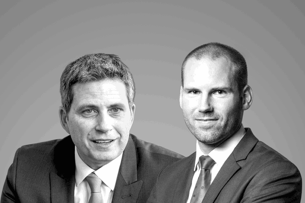 Laurent Simeoni, head of portfolio management private banking chez ING Luxembourg, et Alexandre Gauthy, macroéconomiste chez Degroof Petercam Luxembourg. (Photo: Maison Moderne)