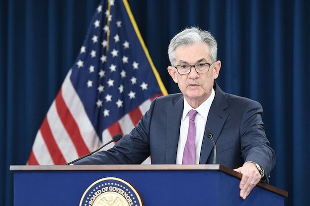 Jerome Powell, président de la Fed, tente un gros coup pour éviter une crise de l'économie américaine. (Photo: Shutterstock)