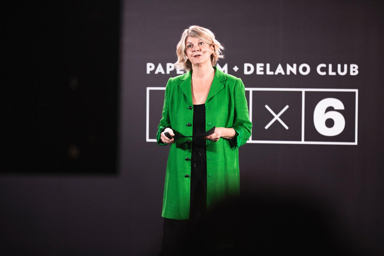 Aline Muller (LISER) (Photo: Simon Verjus/Maison Moderne)