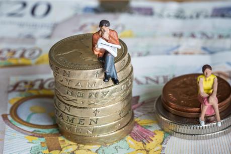 Sans action spécifique et sur la base de l'évolution des 10 dernières années, il faudrait attendre 84ans pour que les femmes gagnent autant que les hommes à un poste similaire. Sauf dans trois pays, dont le Luxembourg, où le «gender gap» serait comblé en 2027. (Photo: Shutterstock)