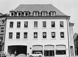 Démolie en 1969, la librairie est reconstruite au même endroit. ((Photo: Archives))