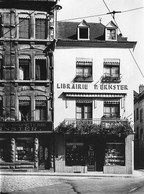 The Ernster bookshop was founded in 1889 on Rue du Fossé in Luxembourg City. Archive photo