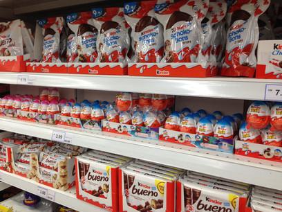 À quelques jours de Pâques, l'auteur menace d'empoisonner des produits de la marque Ferrero. (Photo: Shutterstock)